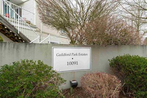 Townhouse for sale at 10091 156 St Unit 104 Surrey British Columbia - MLS: R2439951