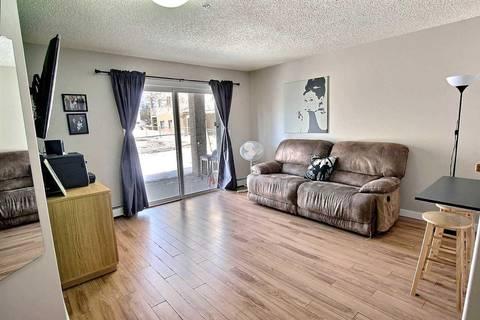 Condo for sale at 14708 50 St Nw Unit 104 Edmonton Alberta - MLS: E4147685