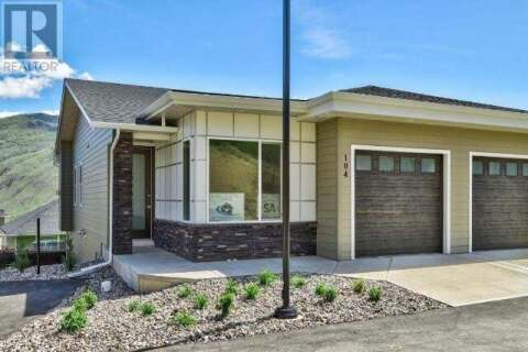 House for sale at 2045 Stagecoach Drive  Unit 104 Kamloops British Columbia - MLS: 156973