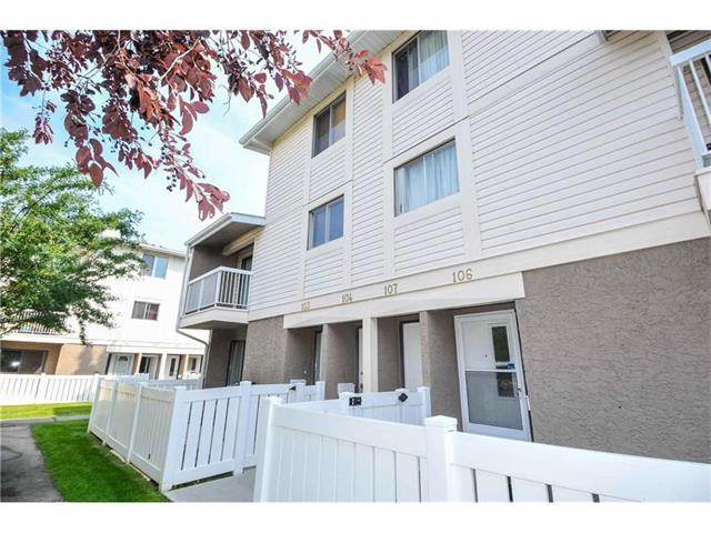 For Sale: 104 - 3015 51 Street Southwest, Calgary, AB | 2 Bed, 1 Bath Townhouse for $229,900. See 16 photos!