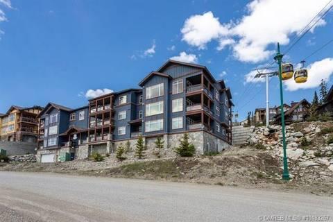Condo for sale at 315 Whitehorse Ln Unit 104 Big White British Columbia - MLS: 10183267