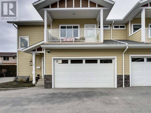Townhouse for sale at 3332 Main St South Unit 104 Penticton British Columbia - MLS: 182470