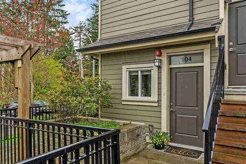 Townhouse for sale at 3488 Sefton St Unit 104 Port Coquitlam British Columbia - MLS: R2357383