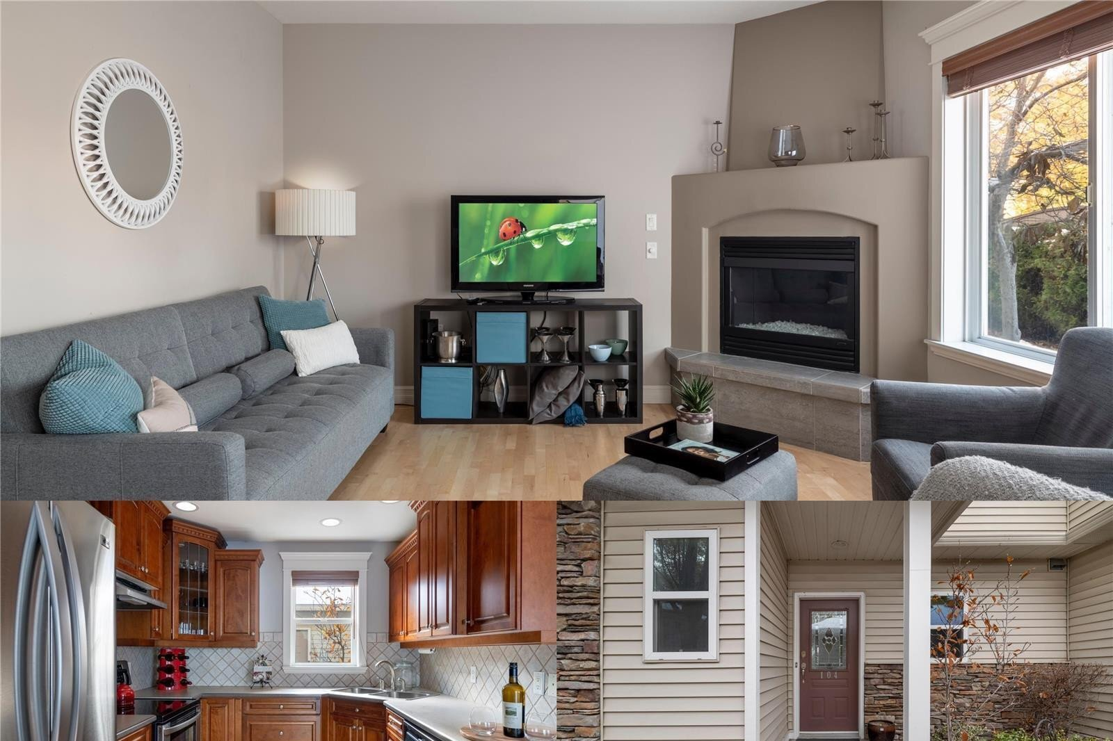 Townhouse for sale at 4049 Lakeshore Rd Unit 104 Kelowna British Columbia - MLS: 10218939