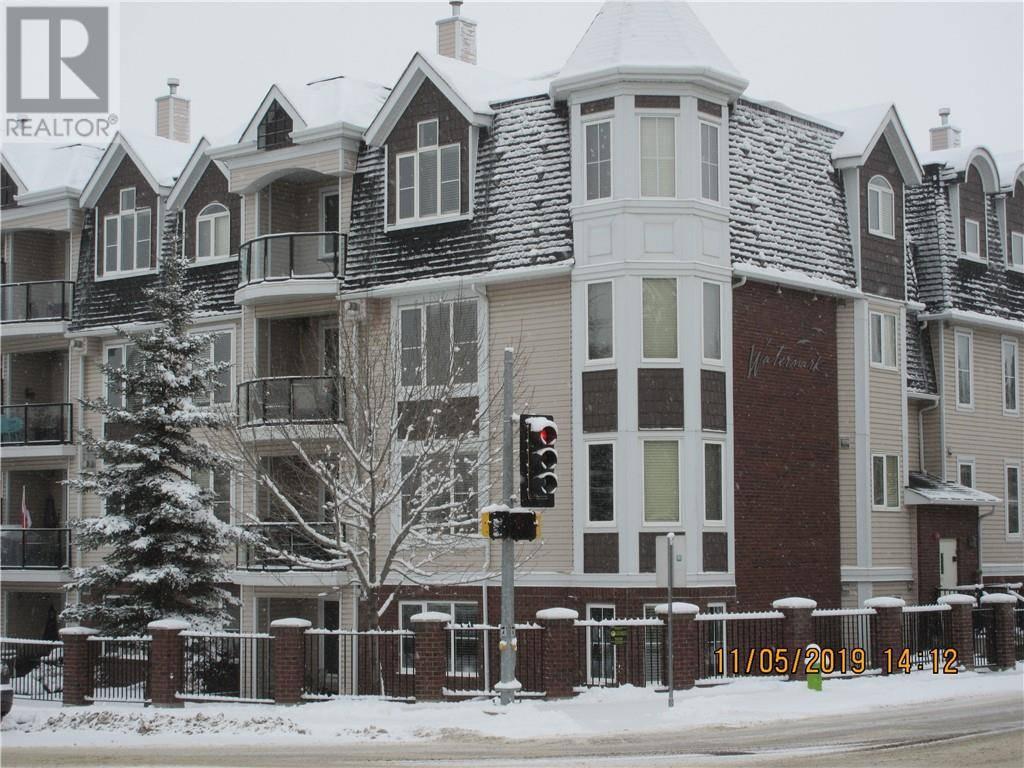 Condo for sale at 4707 50 St Unit 104 Sylvan Lake Alberta - MLS: ca0183237