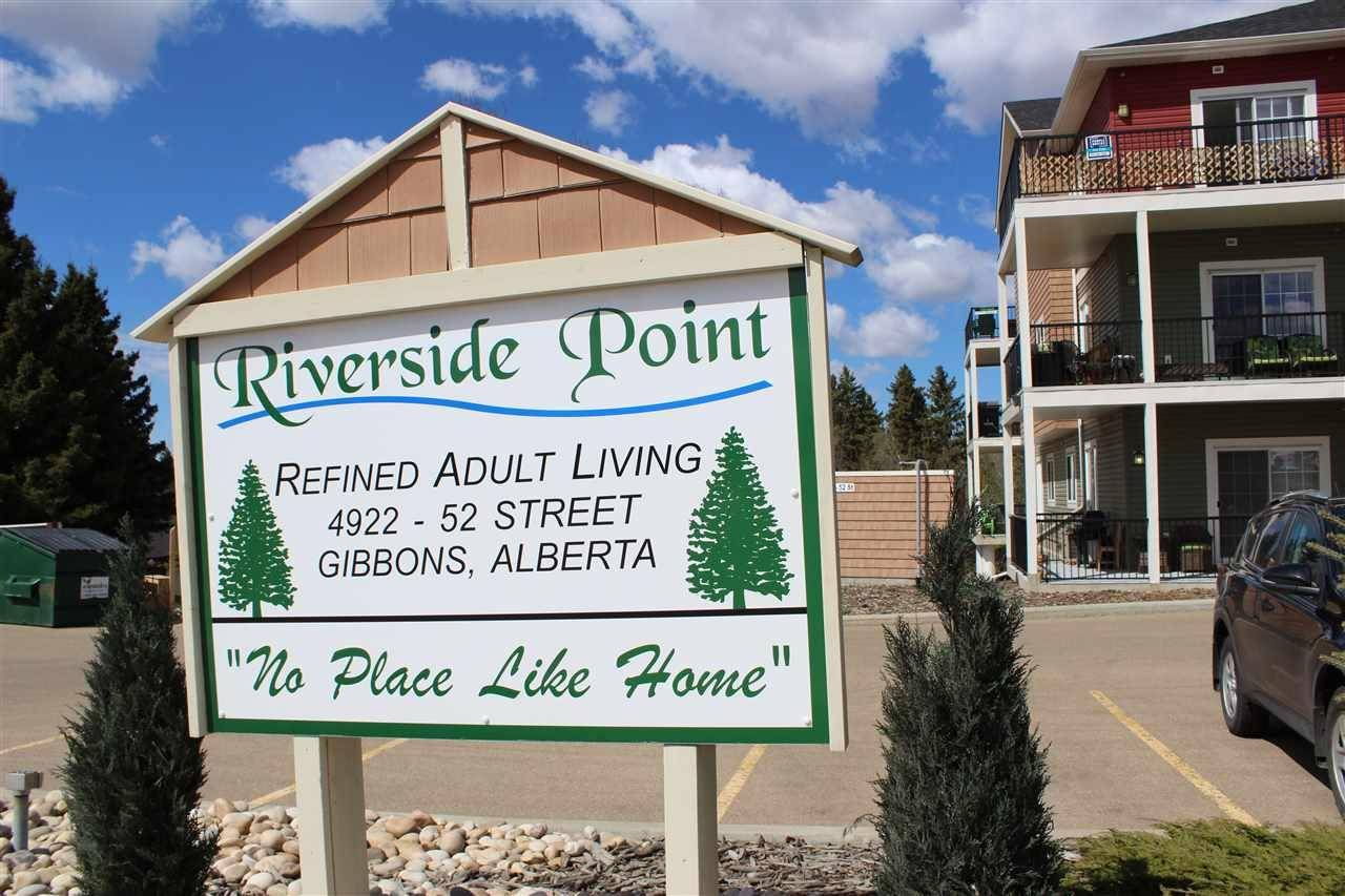 Condo for sale at 4922 52 St Unit 104 Gibbons Alberta - MLS: E4169116