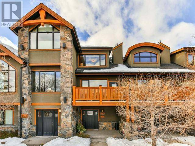 Townhouse for sale at 702 4th St Unit 104 Canmore Alberta - MLS: 51727