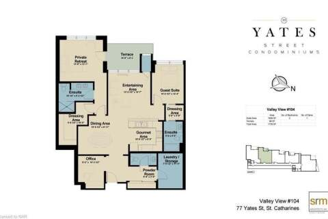Condo for sale at 77 Yates St Unit 104 St. Catharines Ontario - MLS: X4884528
