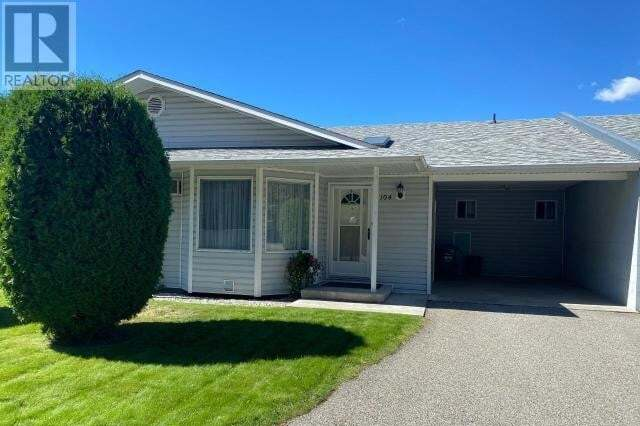 Townhouse for sale at 837 Forestbrook Dr Unit 104 Penticton British Columbia - MLS: 185566