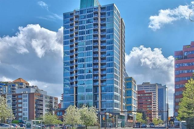 Sold: 1703 - 888 4 Avenue Southwest, Calgary, AB
