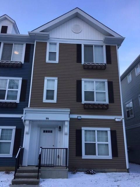Townhouse for sale at 903 Crystallina Nera Wy Nw Unit 104 Edmonton Alberta - MLS: E4181345