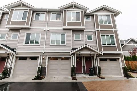 Townhouse for sale at 9080 No 3 Rd No Unit 104 Richmond British Columbia - MLS: R2386212