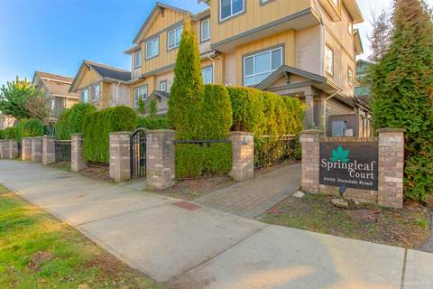 Townhouse for sale at 9400 Ferndale Rd Unit 104 Richmond British Columbia - MLS: R2422387