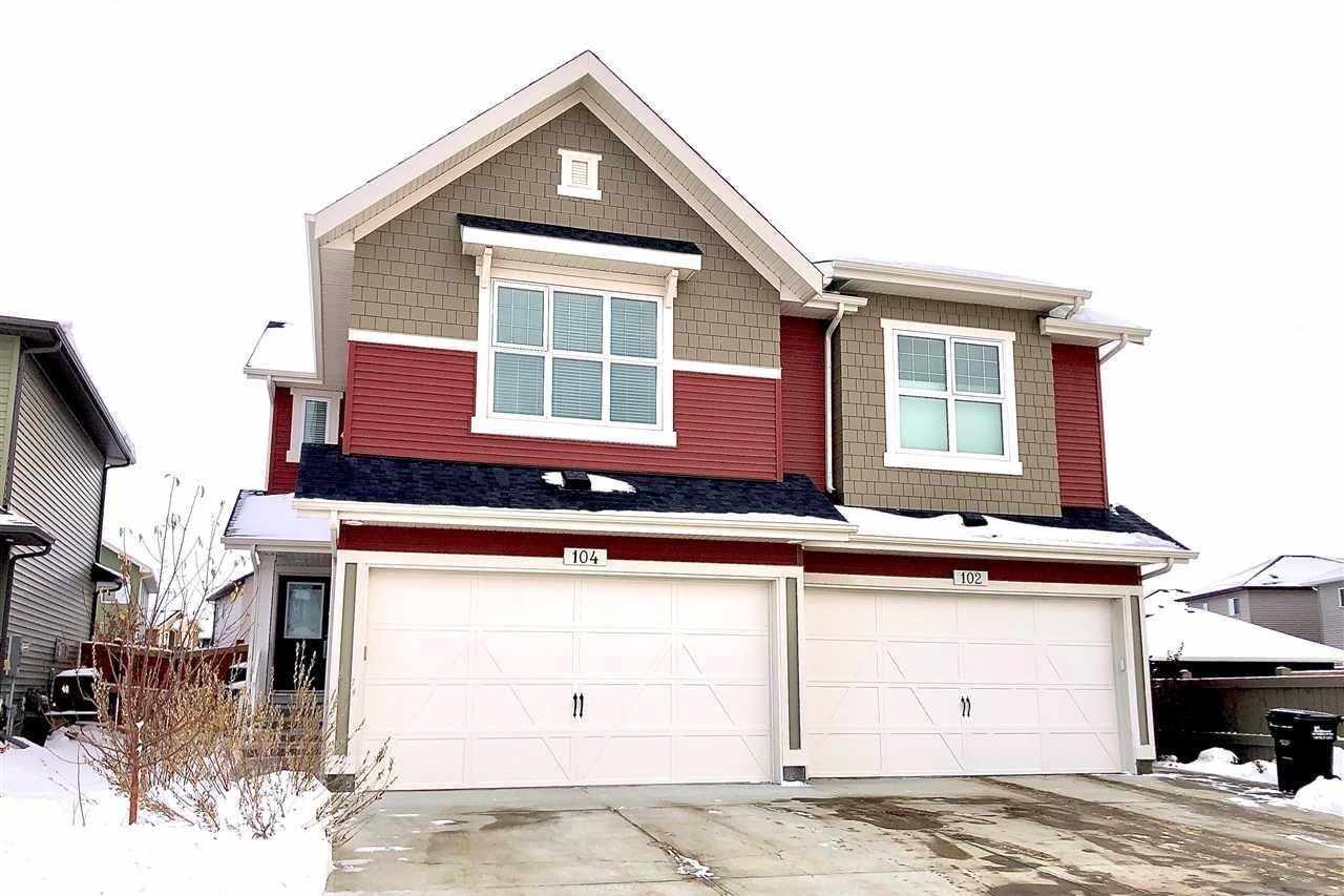 Townhouse for sale at 104 Amberley Wy Sherwood Park Alberta - MLS: E4213385