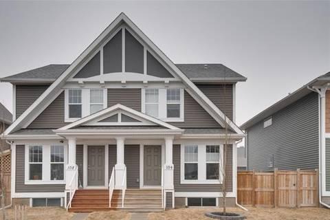 Townhouse for sale at 104 Auburn Meadows Blvd Southeast Calgary Alberta - MLS: C4292552