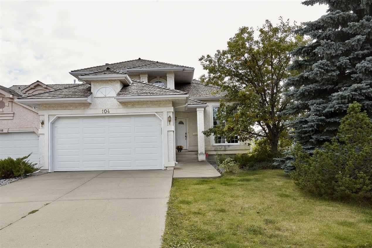 House for sale at 104 Carlson Cl NW Edmonton Alberta - MLS: E4215025