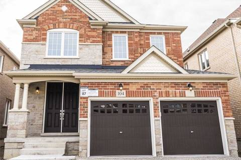 House for rent at 104 Empire Dr Bradford West Gwillimbury Ontario - MLS: N4512433