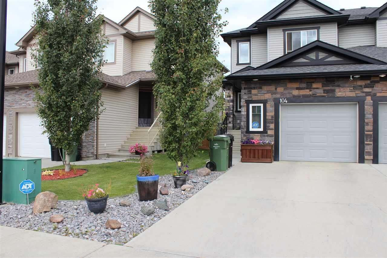 Townhouse for sale at 104 Kirpatrick Wy Leduc Alberta - MLS: E4213118