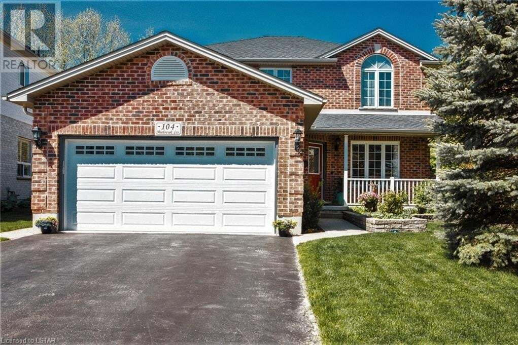 House for sale at 104 Meadowoak Cres London Ontario - MLS: 260421