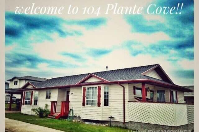 House for sale at 104 Plante Cove  Hinton Alberta - MLS: AW52386