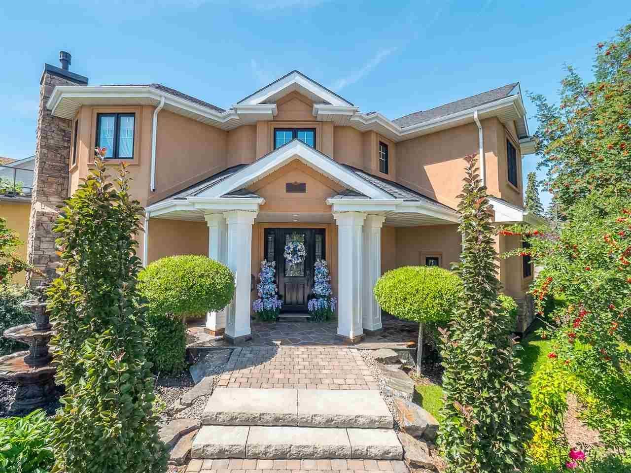 House for sale at 104 Saskatchewan Dr Nw Edmonton Alberta - MLS: E4170321