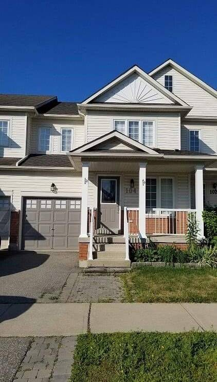 Townhouse for sale at 104 Waters Blvd Milton Ontario - MLS: W4516365