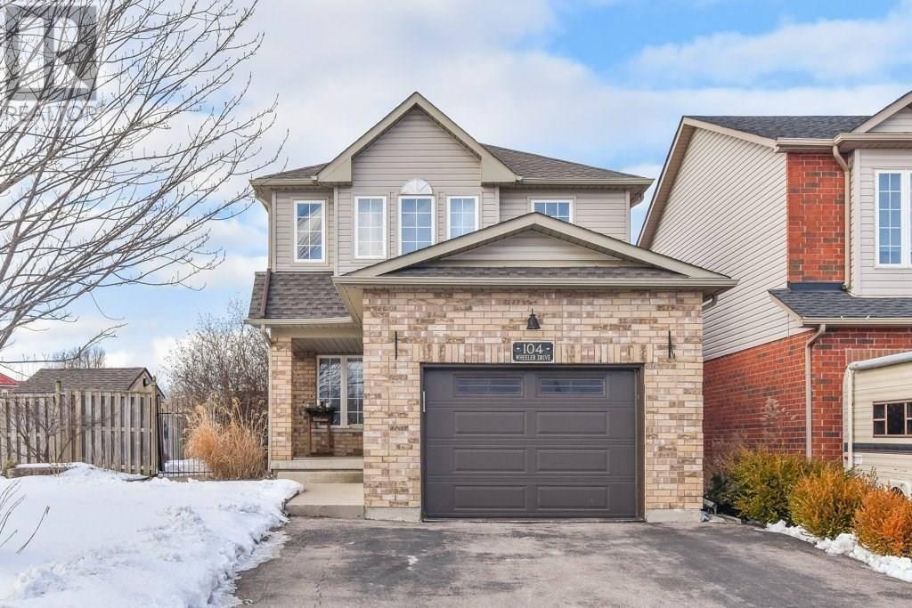 House for sale at 104 Wheeler Dr Cambridge Ontario - MLS: 30792833
