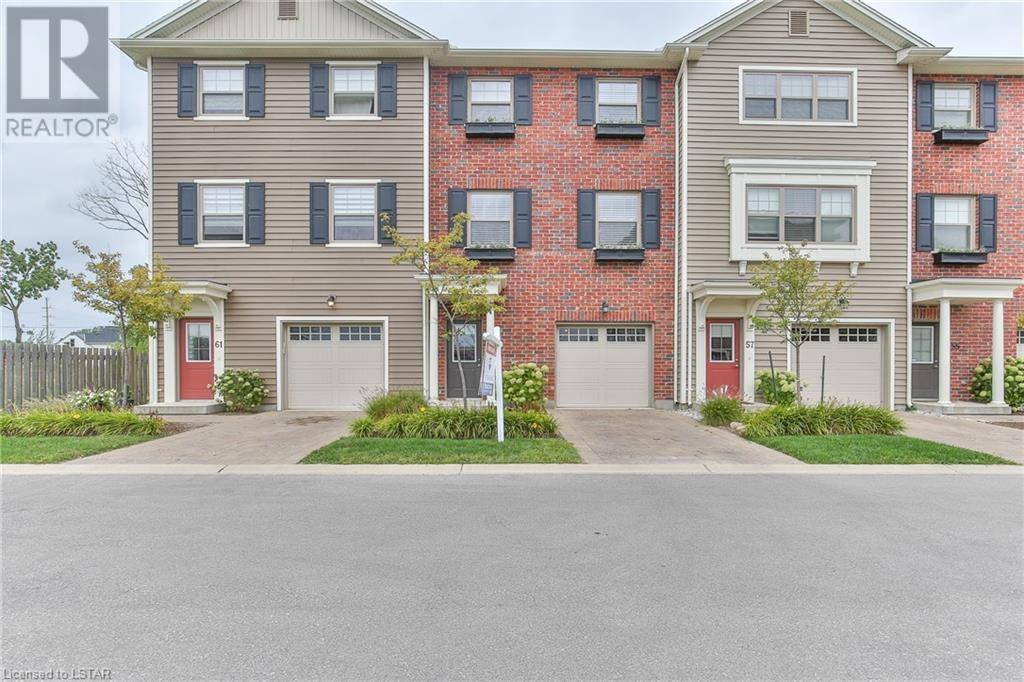 Townhouse for sale at 59 Coronation Dr Unit 1040 London Ontario - MLS: 219332