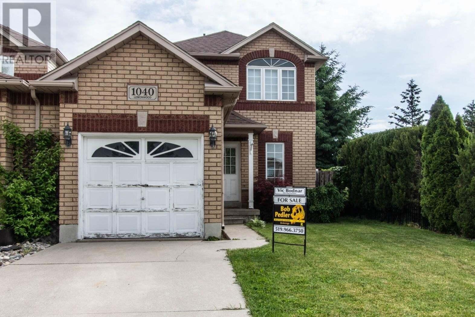 House for sale at 1040 Lemonwood  Windsor Ontario - MLS: 20006407