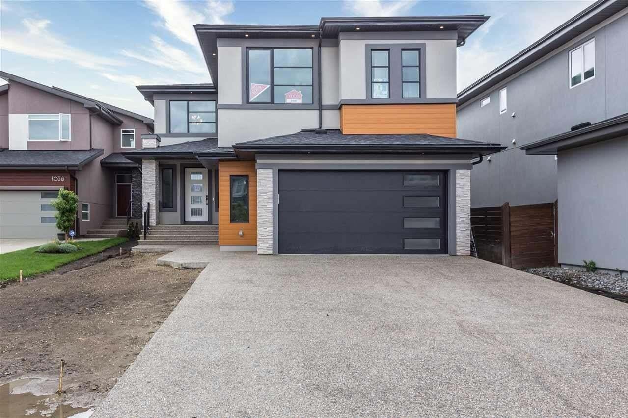 House for sale at 1040 Walkowski Place Pl SW Edmonton Alberta - MLS: E4207671