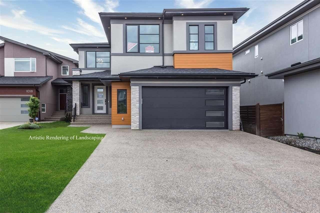 House for sale at 1040 Walkowski Pl SW Edmonton Alberta - MLS: E4207671