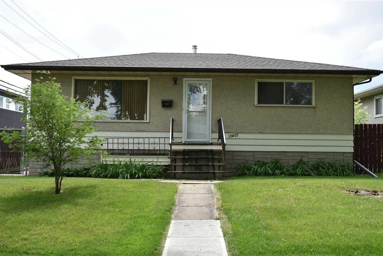 House for sale at 10407 68 Av NW Edmonton Alberta - MLS: E4216543