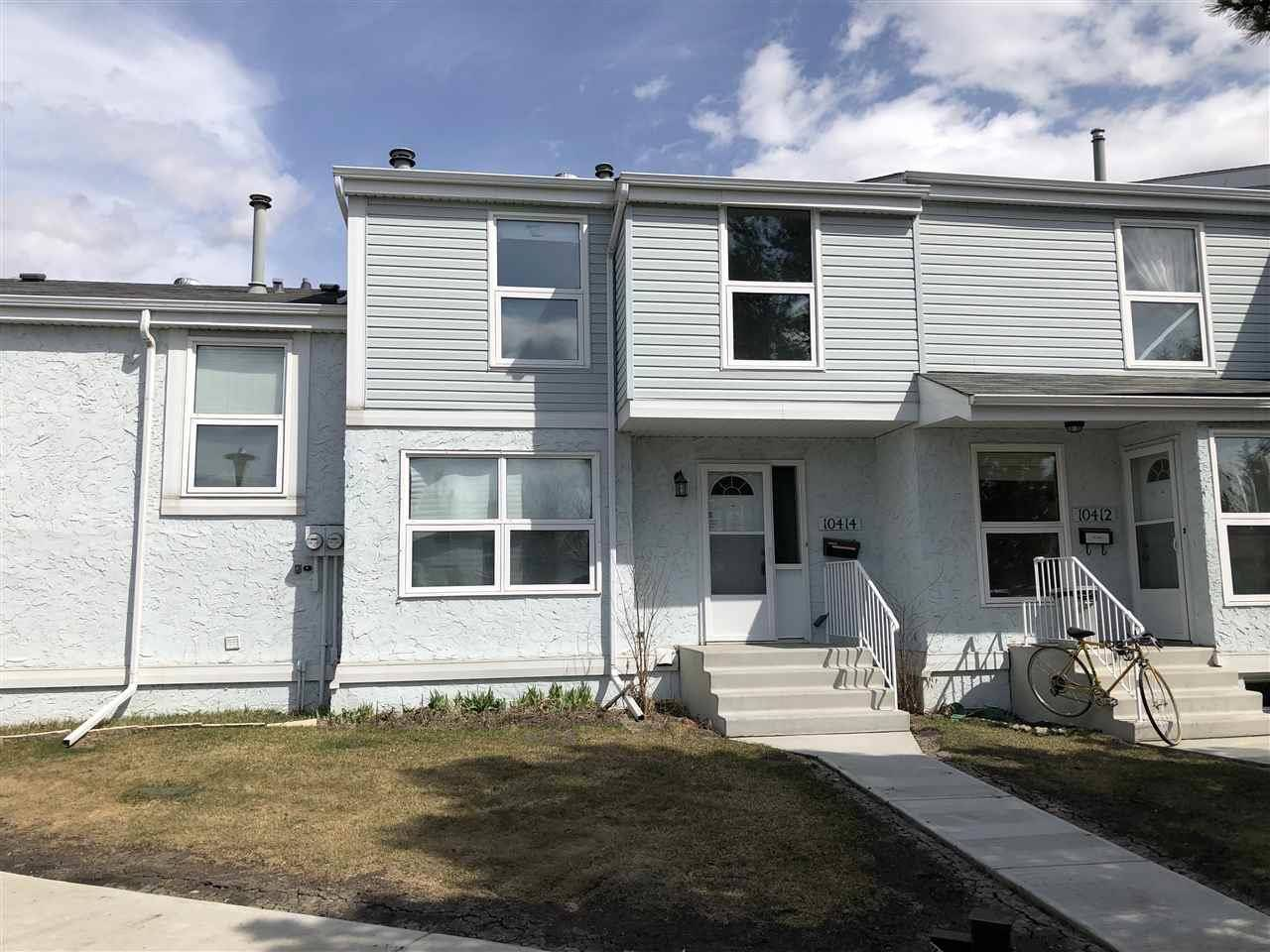 Townhouse for sale at 10414 28a Ave Nw Edmonton Alberta - MLS: E4104739
