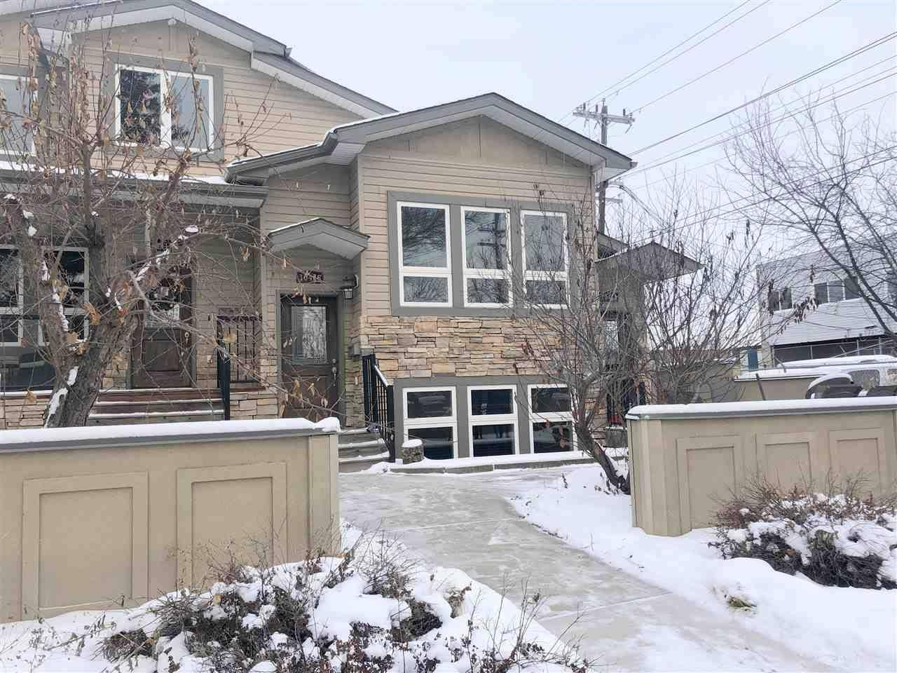 Townhouse for sale at 10416 69 Ave Nw Edmonton Alberta - MLS: E4182461