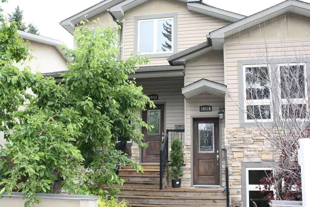 Townhouse for sale at 10418 69 Av NW Edmonton Alberta - MLS: E4194521