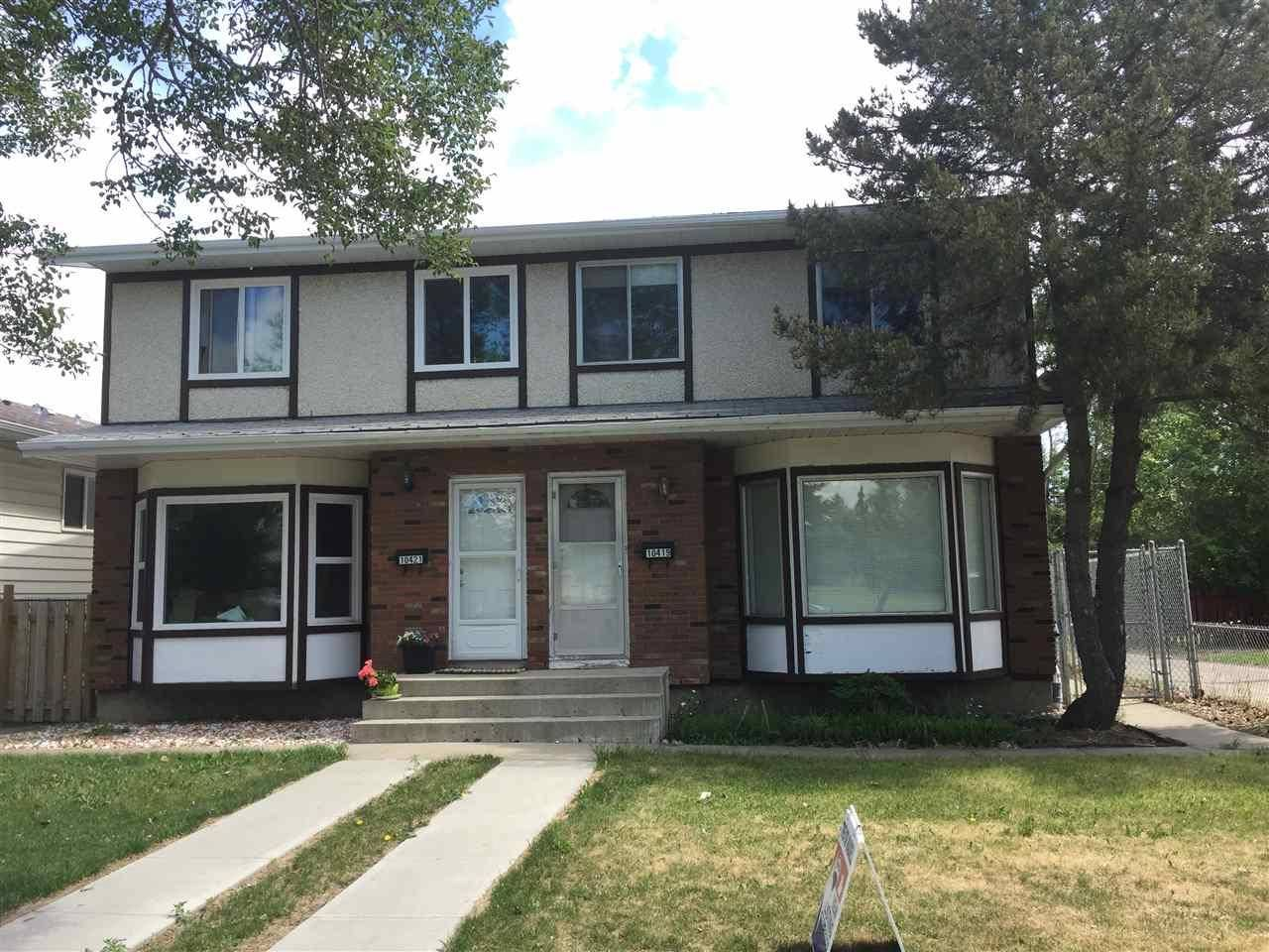 Townhouse for sale at 10419 150 St Nw Edmonton Alberta - MLS: E4168260
