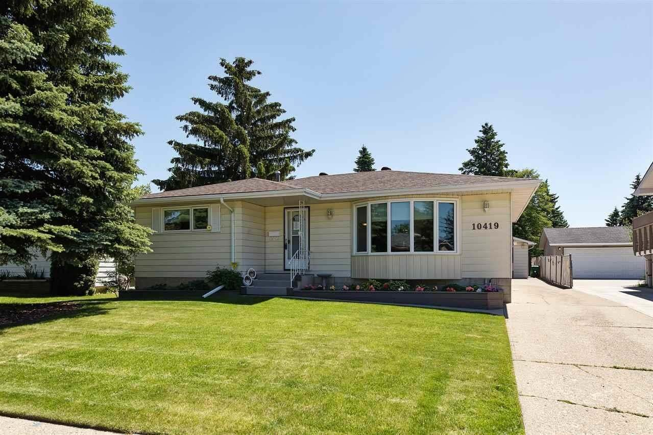 House for sale at 10419 36a Av NW Edmonton Alberta - MLS: E4202961