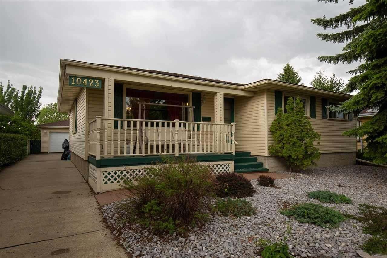 House for sale at 10423 39 Av NW Edmonton Alberta - MLS: E4202386