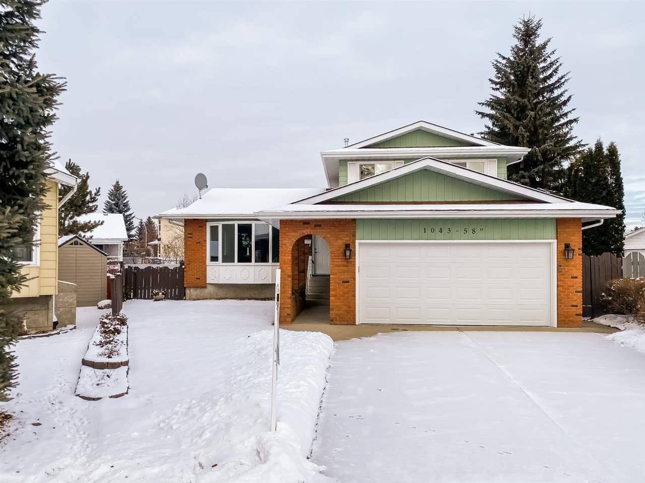 House for sale at 1043 58 St Nw Edmonton Alberta - MLS: E4176925