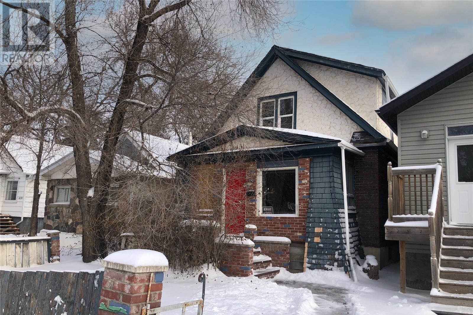 House for sale at 1043 Mctavish St Regina Saskatchewan - MLS: SK833423