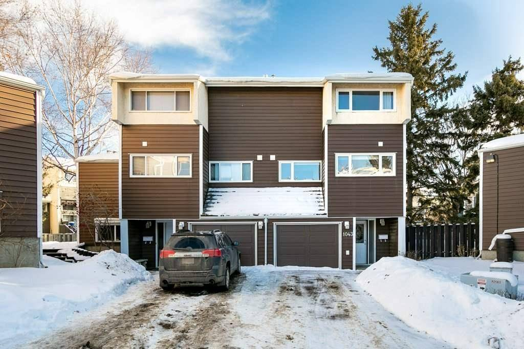 Townhouse for sale at 1043 Millbourne Rd Nw Edmonton Alberta - MLS: E4185806