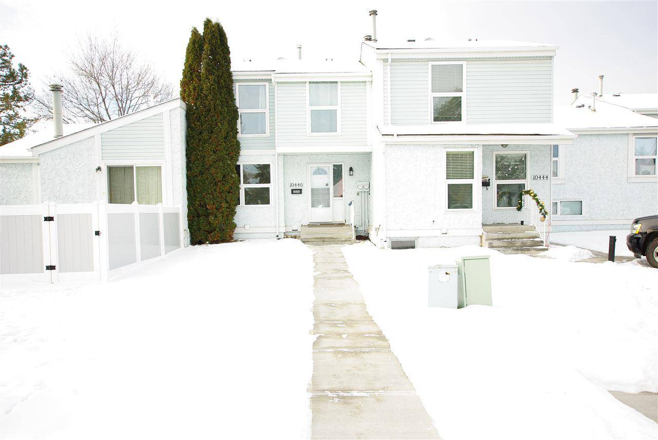 Townhouse for sale at 10446 28a Ave Nw Edmonton Alberta - MLS: E4182501