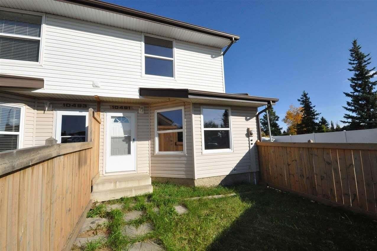 Townhouse for sale at 10491 24 Av NW Edmonton Alberta - MLS: E4215599