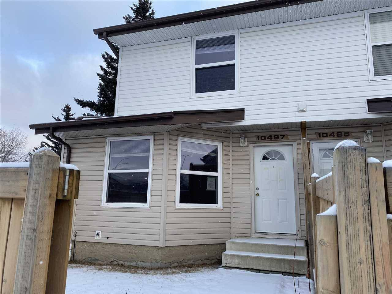 Townhouse for sale at 10497 24 Ave Nw Edmonton Alberta - MLS: E4180892