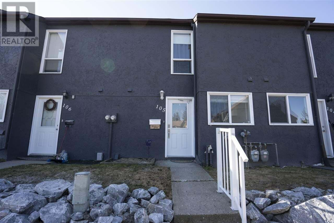 Townhouse for sale at 101 N Tabor Blvd Unit 105 Prince George British Columbia - MLS: R2453511