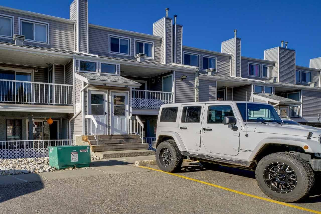 Townhouse for sale at 10404 24 Ave Nw Unit 105 Edmonton Alberta - MLS: E4175807