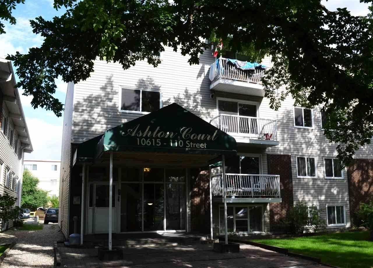 Condo for sale at 10615 110 St Nw Unit 105 Edmonton Alberta - MLS: E4168931
