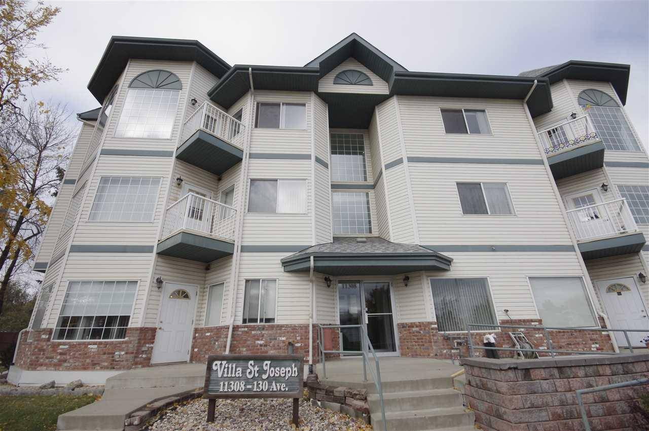 Condo for sale at 11308 130 Ave Nw Unit 105 Edmonton Alberta - MLS: E4172960