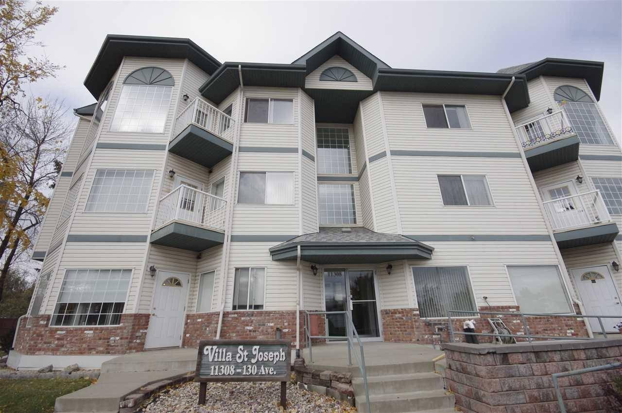 Condo for sale at 11308 130 Ave Nw Unit 105 Edmonton Alberta - MLS: E4172960