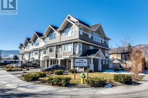 Townhouse for sale at 115 Sydney St Unit 105 Penticton British Columbia - MLS: 177067